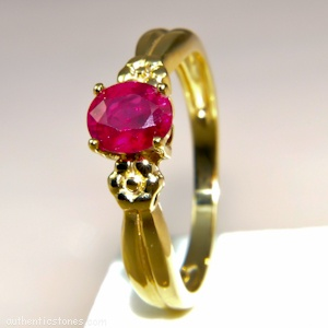 925 Sterling Silver Jewellery    Ruby Oval Silver Ring    shopping.ebizz@gmail.com