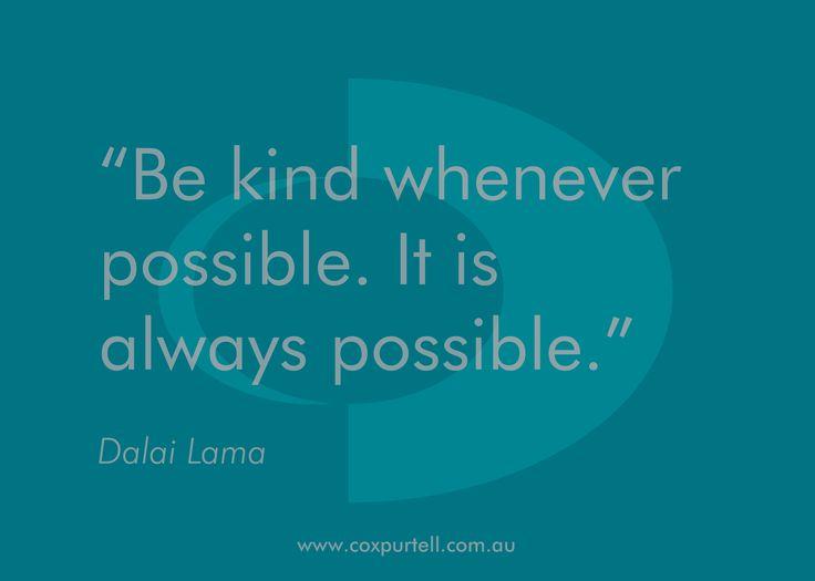 Dalai Lama #Quote - Cox Purtell #Recruitment