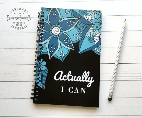Schrijven dagboek spiraal notebook schetsboek door JournalandCo