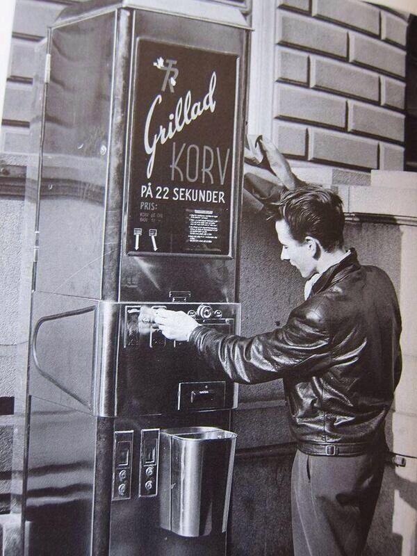 Hot Dog automatic machine