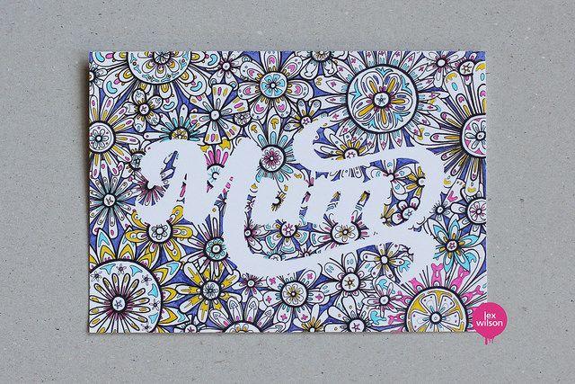 Birthday card for my mum | Flickr – Compartilhamento de fotos!
