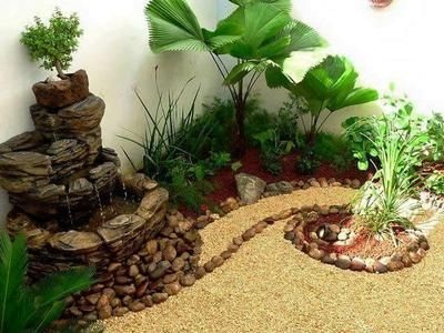 25 best ideas about decoracion jardines peque os on for Decoracion jardin exterior pequeno