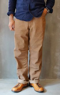 FREEWHEELERS Freewheelers STEAMROLLER OVERALLS 1920-1930 s STYLE WORK CLOTHING YARN-DYED CHINO CLOTH