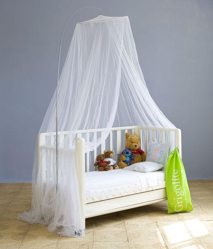 Protezione naturale con un pizzico... di stile - #Agnese #zanzariera #letto #bambini #Grigolite