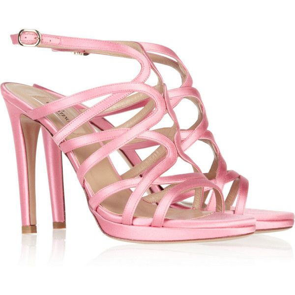1000  ideas about Pink Strappy High Heels on Pinterest | Sexy high