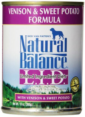 Natural Balance Canned Dog Food, Grain Free Limited Ingredient Diet Venison and Sweet Potato Recipe, 12 x 13 Ounce Pack Natural Balance http://www.amazon.com/dp/B000A3SJ8W/ref=cm_sw_r_pi_dp_iNV4tb1F3GY2T
