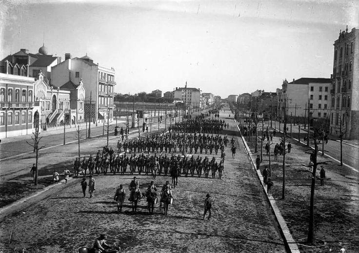 Av da Liberdade by Joshua benoliel 1916...First world war preparation