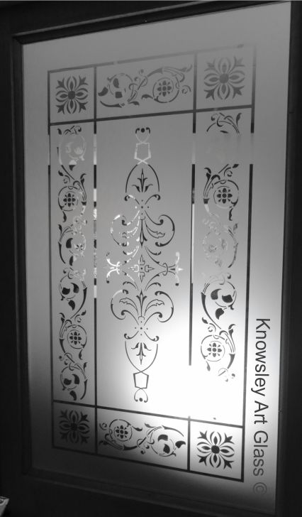 Knowsley Art Glass- Wide Panel