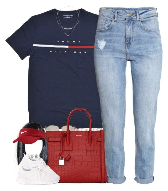 """Code Blue"" by oh-aurora ❤ liked on Polyvore featuring Christian Dior, Diane Kordas, Repossi, Dionea Orcini, Yves Saint Laurent, H&M, NIKE, ASOS and Lipsy"
