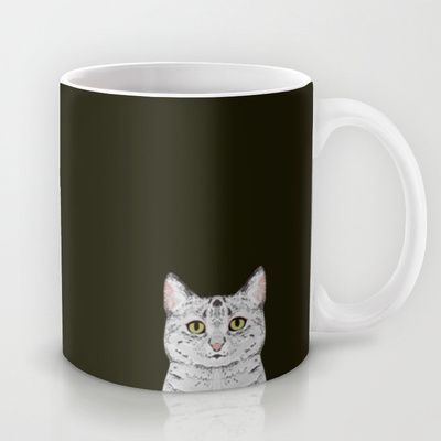 Cameron - Egyptian Mau Cat gift and phone case with cat or a gift for a cat lover and cat person Mug by PetFriendly - $15.00