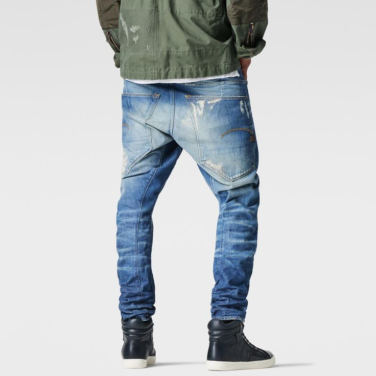 G-Star RAW | Men | Jeans | Type C 3d Tapered Jeans , Medium Aged Restored