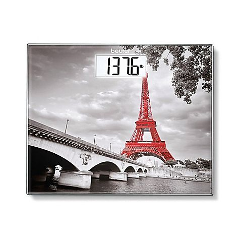 Showing Off The Sights Of The City Of Light Beurer S Paris Digital Glass Bathroom Scale
