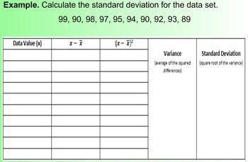 Standard Deviation (Math 1)