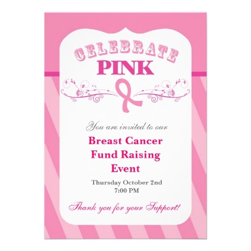 13 best New Boob Party images on Pinterest Breast cancer - fundraiser invitation templates