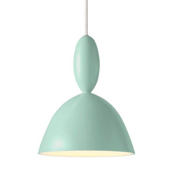 Light green Mhy pendant lamp by Muuto. Design by Norway Says.