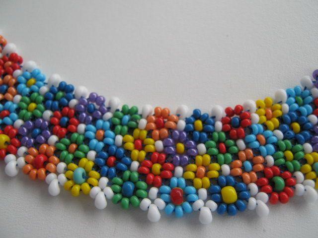 Цветочная полянка | biser.info - всё о бисере и бисерном творчестве