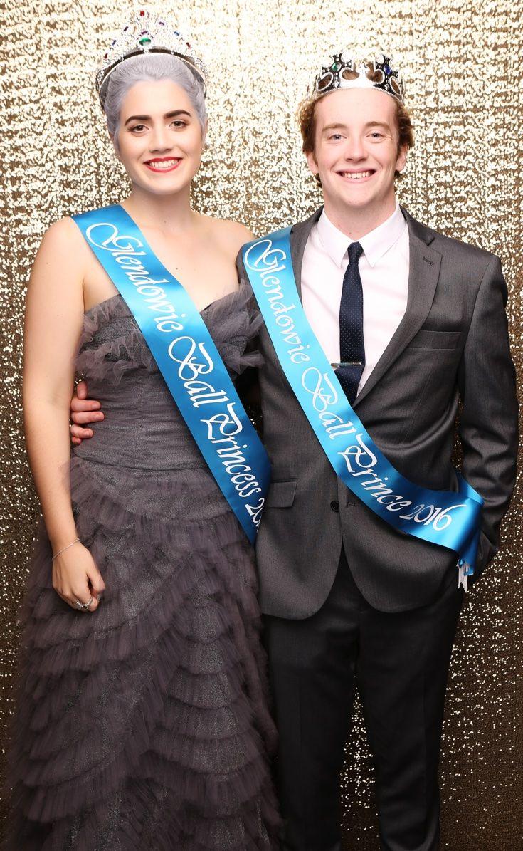 Glendowie Ball 2016. Prince and Princess. www.whitedoor.co.nz