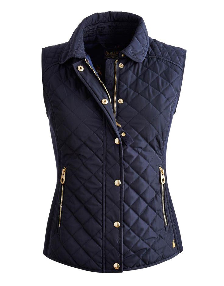 BRAEMAR Womens Slim Fit Quilted Vest