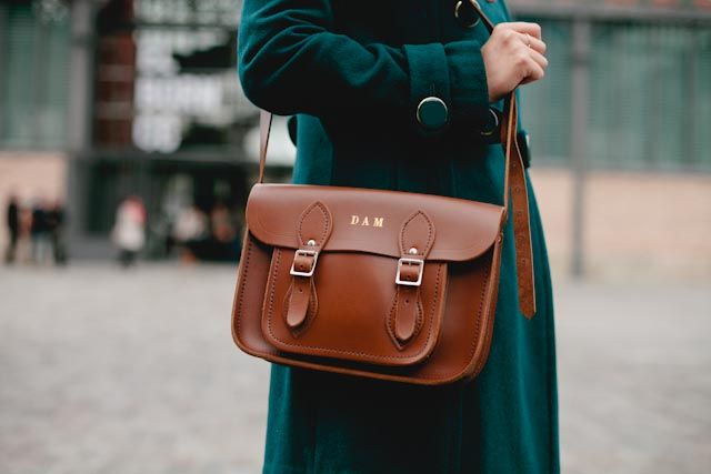 personalized, initials, cambridge satchel bag, handbag, style, leather, utility, outfit