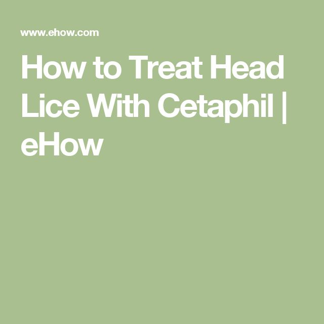 A Simple Treatment for Head Lice: Dry-On, Suffocation ...