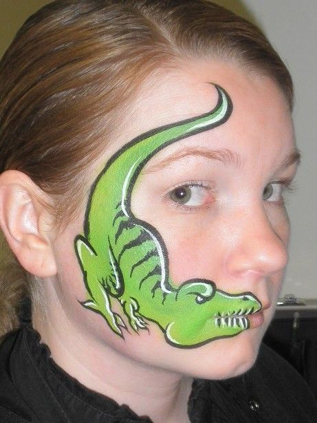 1000 ideas about dinosaur face painting on pinterest. Black Bedroom Furniture Sets. Home Design Ideas
