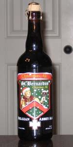 St. Bernardus Christmas Ale, Belgian Strong dark Ale, Belgium 10%ABV. Just tried it this year and it was lovely!