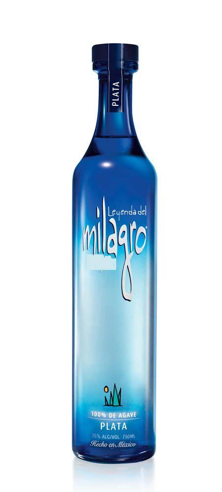 Milagro tequila bottle