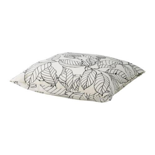 IKEA - STOCKHOLM, Kudde, Fyllningen av ankfjäder känns fluffig och ger din kropp ett utmärkt stöd.