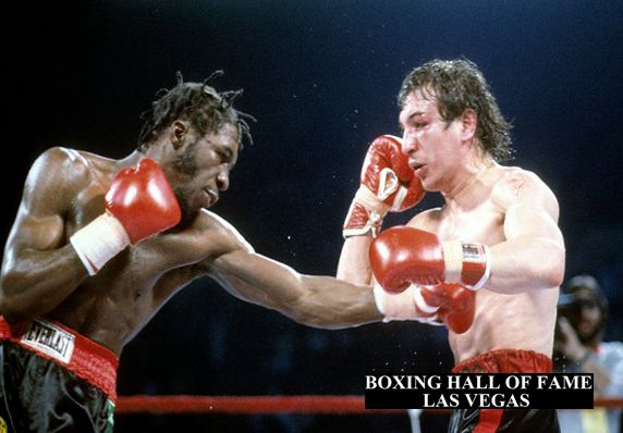 Livingstone Bramble Beats Ray Mancini and Retains Crown This Day February 16, 1985 - #boxing #boxinghalloffamelasvegas