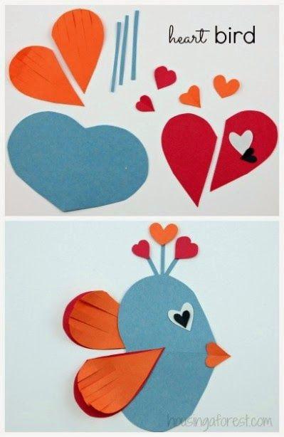 Okulöncesi Sanat ve Fen Etkinlikleri: Okulöncesi Kalp Sanat Etkinlikleri -Balık yapımı-