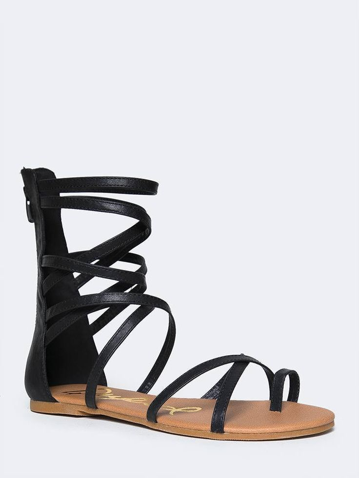 Strappy Gladiator Sandal Zooshoo Sandals Sandals