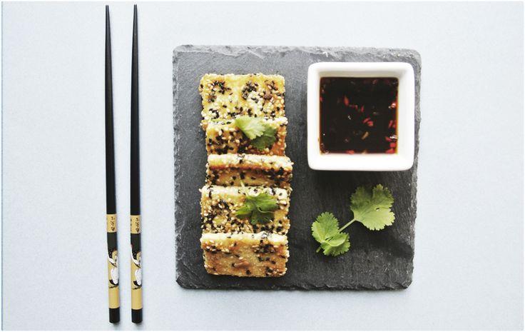Tofu crocante com sésamo - BioEscolha Sabores
