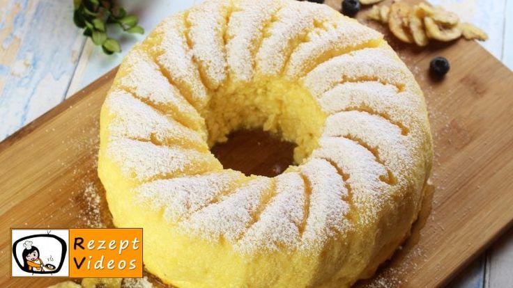 Quarkkuchenrezept mit Video – ein leichter Kuchen ohne Sahne   – Kuchen