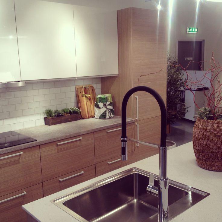 HTH Kitchen Struktur hvit ein