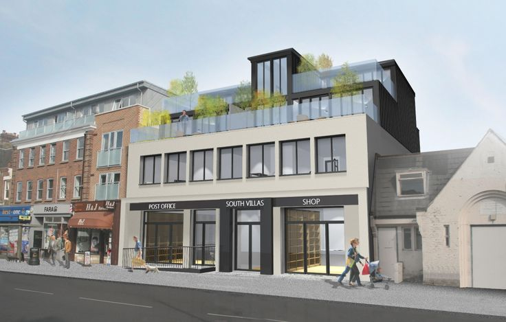 9 best images about commercial buildings on pinterest for 2 story commercial office building plans