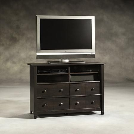 Sauder Edge Water Tall TV Stand, for TVs up to 45""