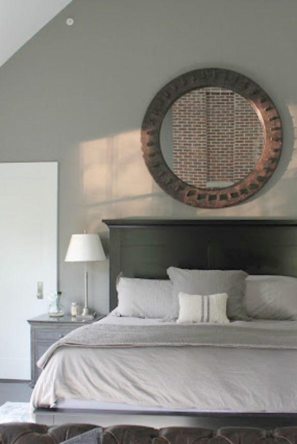 grey paint color decor industrial farmhouse bedroom on industrial farmhouse paint colors id=44006