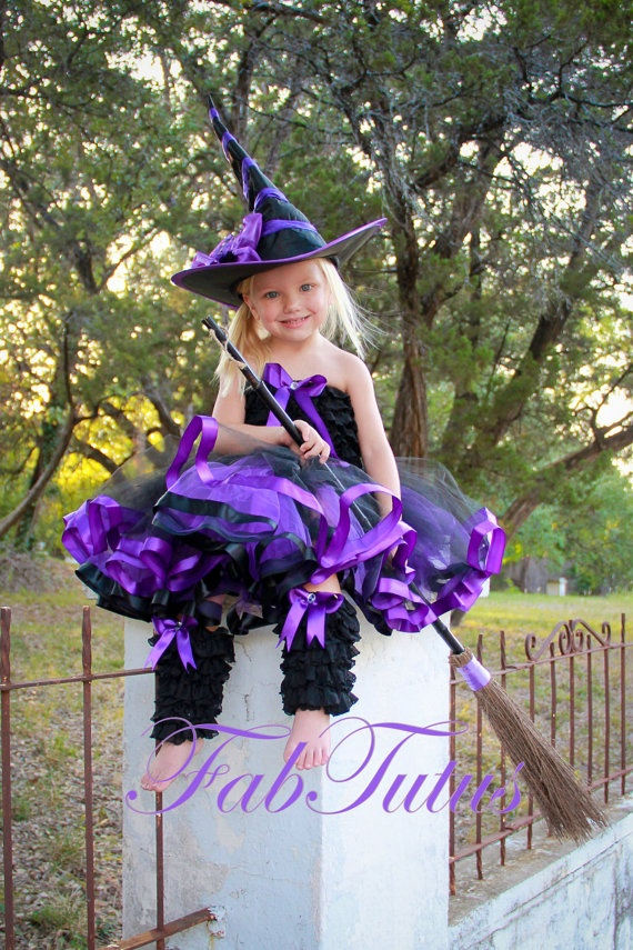 Fancy Little Witch Costume. $80.00