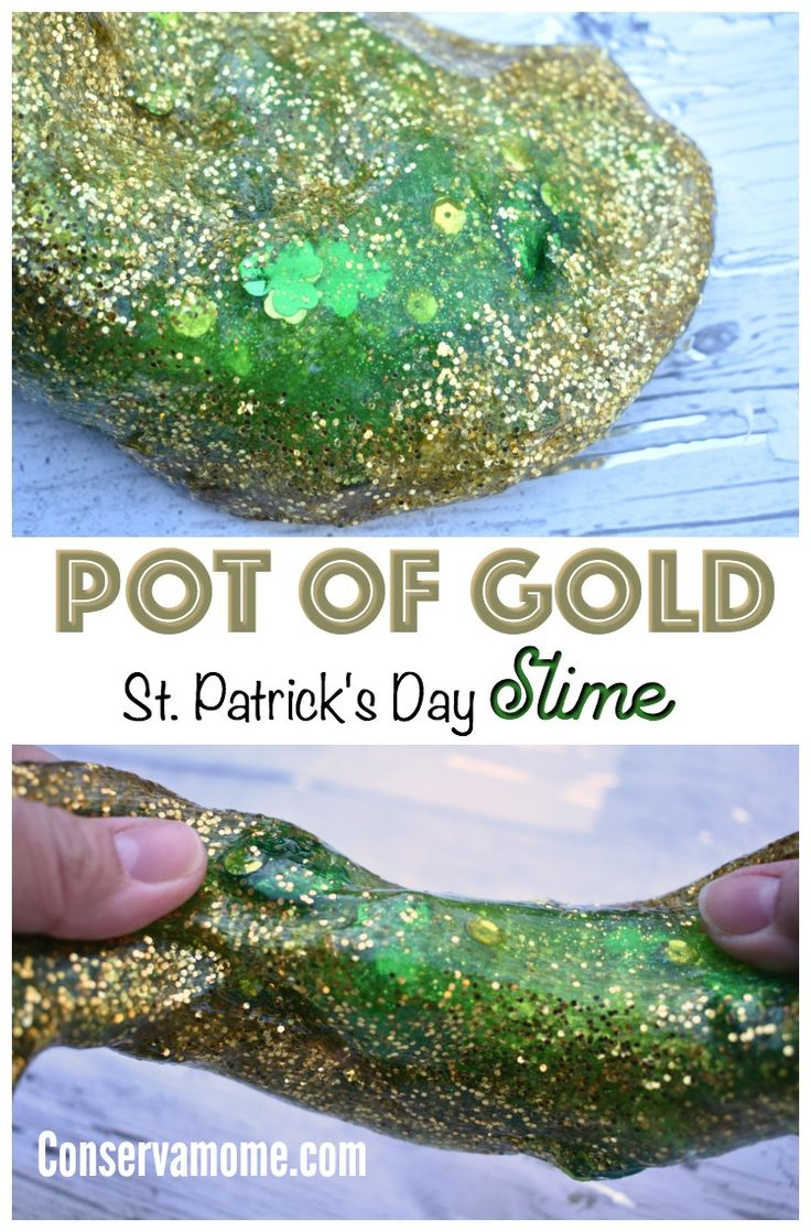 This gorgeous Pot of Gold St.Patrick's Day Slime recipe will be a huge favorite with all your slime lovers at home! Check out how easy and fun this gorgeous slime can be to make.