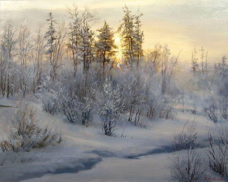 Morning - Valeri Busygin - Russian Fine Art