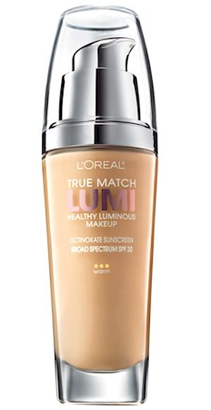 L'Oréal Paris True Match LUMI Healthy Luminous Foundation $10.99