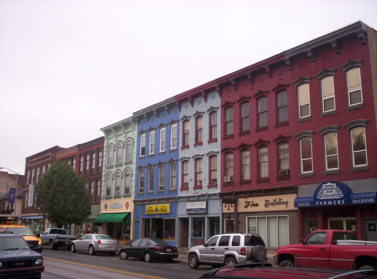 Honesdale Pa Downtown Urban Planning Community Development