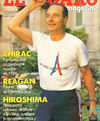 Chirac en pleine forme.