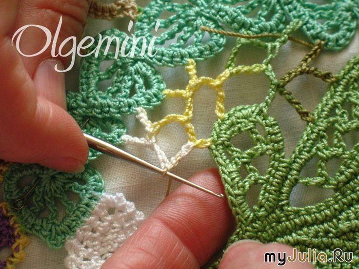 Вязание игольное