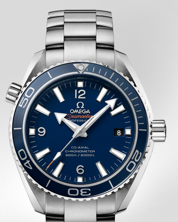 OMEGA Watches: Seamaster Planet Ocean 600 M Omega Co-Axial 42 mm - Titanium on titanium - 232.90.42.21.03.001
