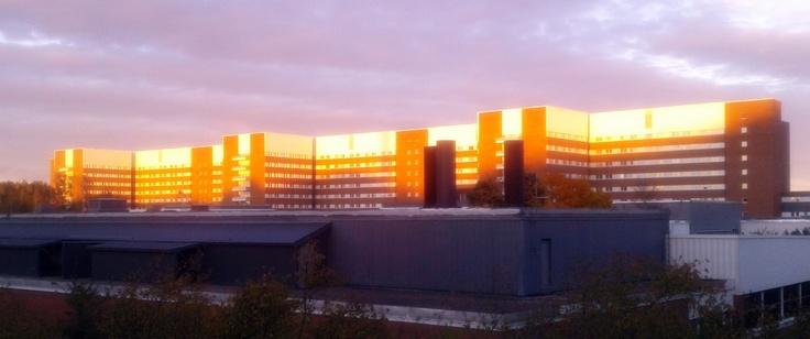 The nice hospital of Sundsvall