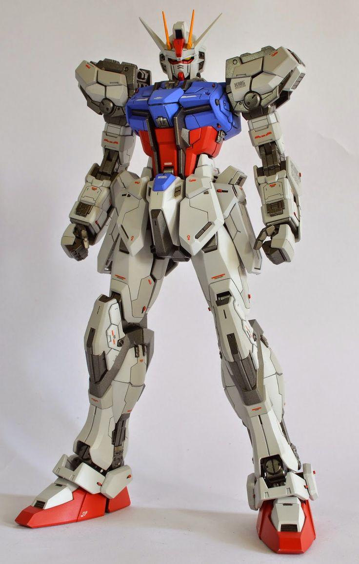 "Custom Build: MG 1/100 Aile Strike Gundam Ver. RM ""Detailed"" - Gundam Kits Collection News and Reviews"
