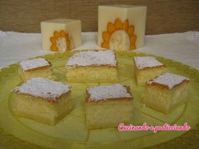Torta magica.. www.cucinandoepasticciando.com
