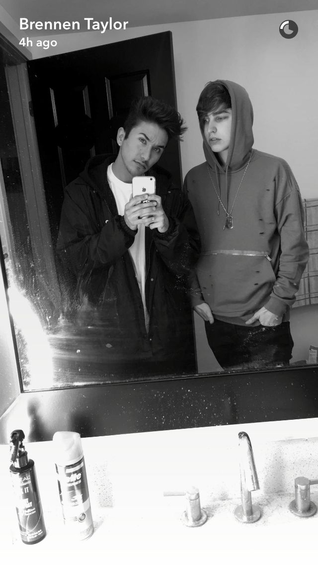 Brennen Taylor and Colby Brock