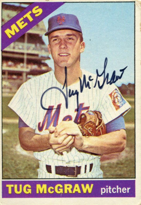 Tug McGraw - Bing Images  Miracle Met and Daddy to Tim